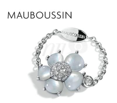 Bague Chainette Minuscule Éternité Tendresse - Mauboussin