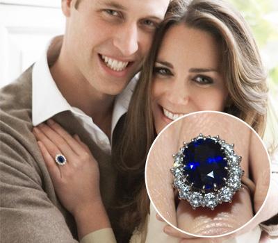 Bague de fiançailles de Kate Middleton
