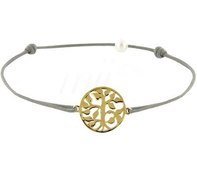 Bracelet Cordon Arbre de Vie - Les Poulettes