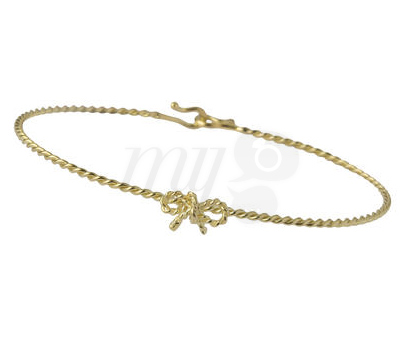 Bracelet Jonc Noeud For Ever - Milligram