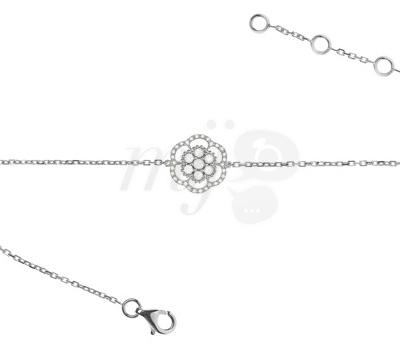Bracelet Lily Rose de Lisonia en or blanc