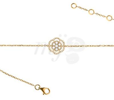 Bracelet Lily Rose de Lisonia en or jaune