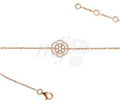 Bracelet Lily Rose de Lisonia en or rose