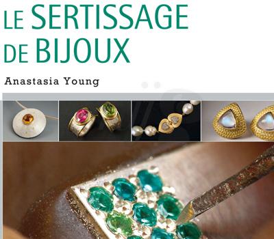 Livre Sertissage Bijoux - Eyrolles