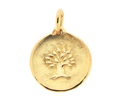 Médaille de Naissance Arbre de Vie