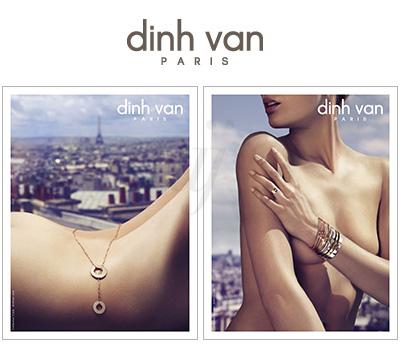 Publicité Dinh Van 2013