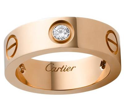 Bague de fiançailles Cartier Love