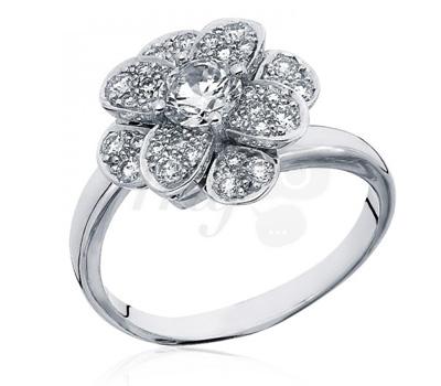 Bague Emma diamant fleur d'Alphonse & Thibault