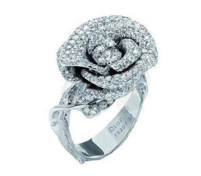 Bague de fiançailles Rose Bagatelle de Dior