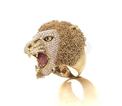 Bague Lion - Roberto Coin - Baselworld 2013
