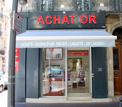 Boutique d'achat d'or à Marseille