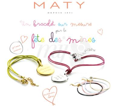 Bracelet Maty Fête Des Mères 2013