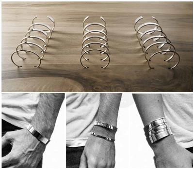 Bracelets argent Le Gramme
