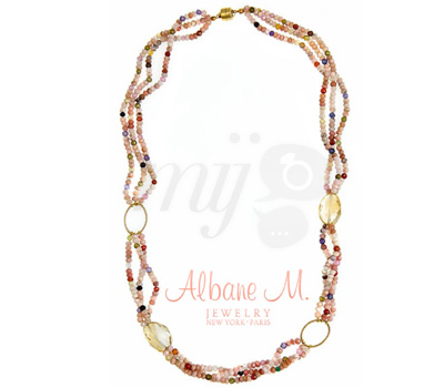 Collier Alba par Albane M