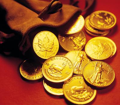Cours de la monnaie en or