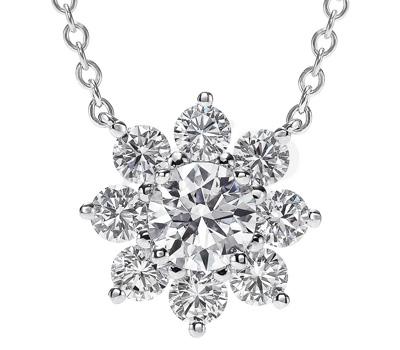 Pendentif Sunflower diamants par Harry Winston
