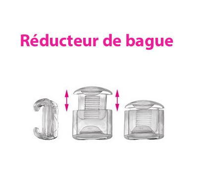 Réducteur de bague en plastique