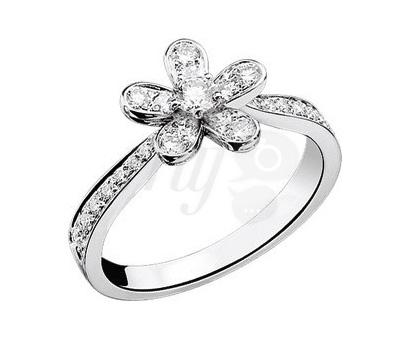 Solitaire Socrate diamant de Van Cleef & Arpels