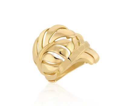 Bague Plume Or Jaune - Chanel