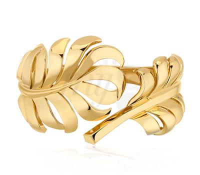 Bracelet Plume Or Jaune - Chanel Joaillerie