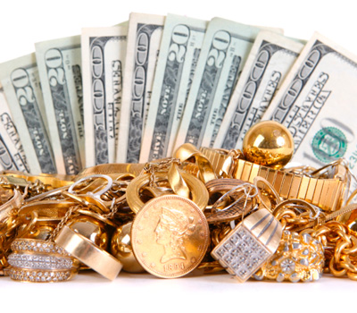 Déroulement de la vente d'or