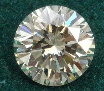 Diamant d'une grosseur moyenne