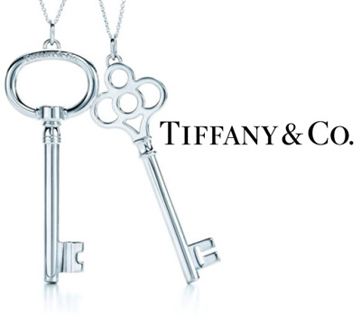 Pendentif Clé en argent de Tiffany & Co