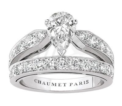 Solitaire Diadème Josephine avec diamant de Chaumet