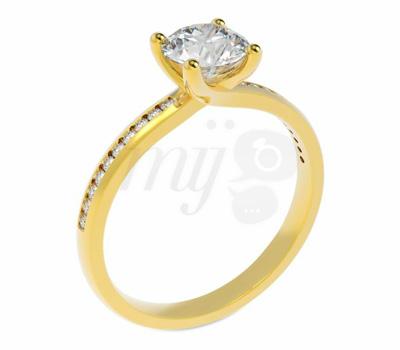 Bague de Fiançailles Diamants Edendiam