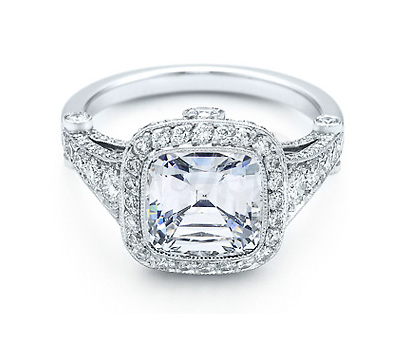 Bague platine et diamants Legacy de Tiffany