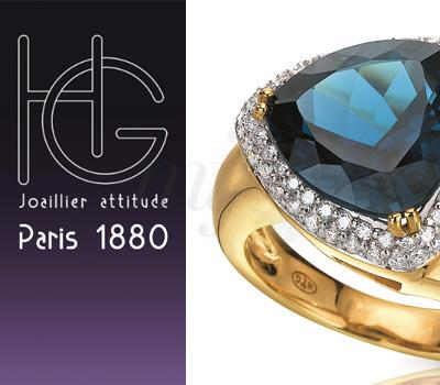 Bagues Bleu Abyssal de H.Gringoire