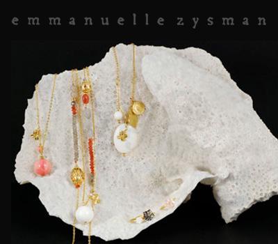 Bijoux d'Emmanuelle Zysman