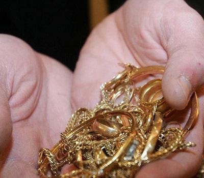 Les lieux pour la vente d'or