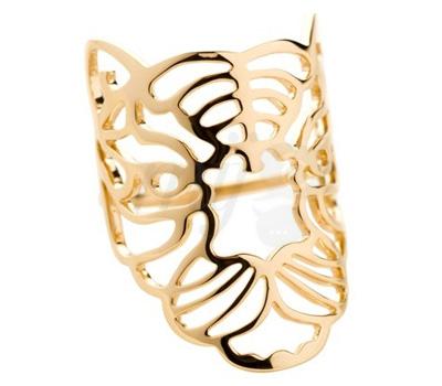 Bague Tiger en or jaune de Nessa