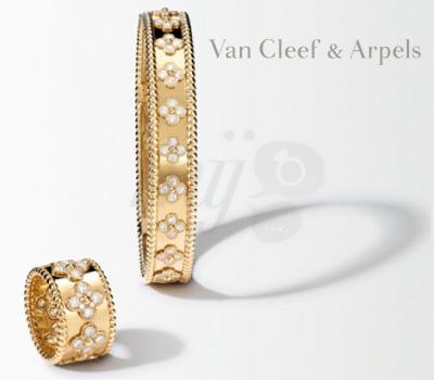 Bijoux Pérlee or jaune de Van Cleef & Arpels