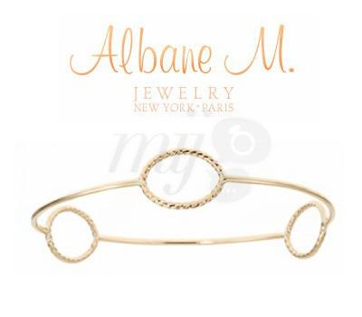 Bracelet Jonc Alba d'Albane M Jewelry