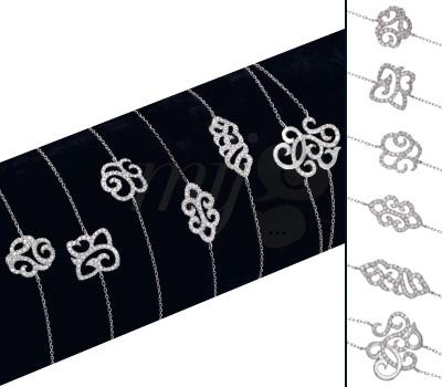 Bracelets Arabesques diamants de H.Gringoire