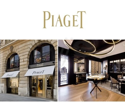 Nouvel écrin pour la boutique Piaget Vendôme