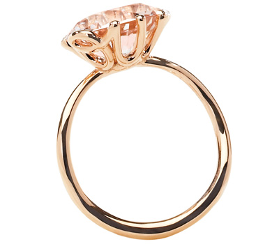 Bague Oui de Dior en or rose