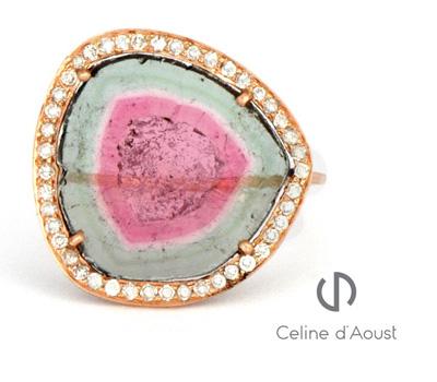 Bague Watermelon Céline d'Aoust