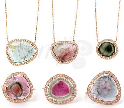 Bijoux Tourmalines Diamants Céline d'Aoust Joaillerie