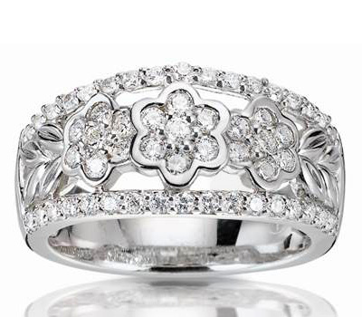 Bague diamant 1 de H.Gringoire