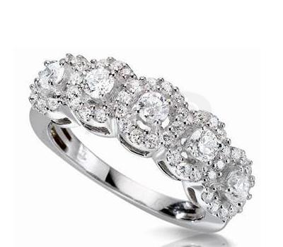 Bague diamant 3 de H.Gringoire