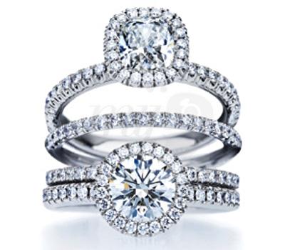 Bagues de fiançailles diamants de De Beers