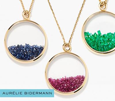 Bijoux Chivor d'Aurélie Bidermann