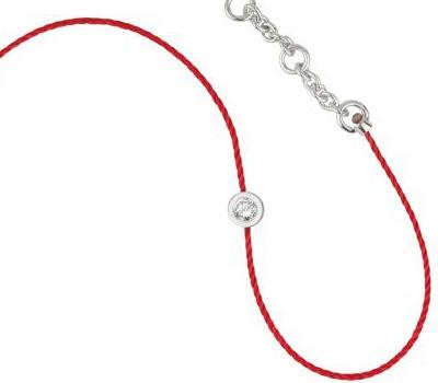 Bracelet Identity fil rouge de Vanessa Tugendhaft