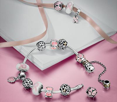 Pandora soutient la lutte contre le cancer du sein