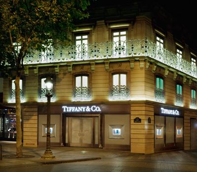 Tiffany & Co sur les Champs Élysées