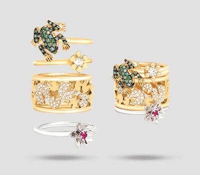 Bague Once Upon a Time de Malakine Joaillerie