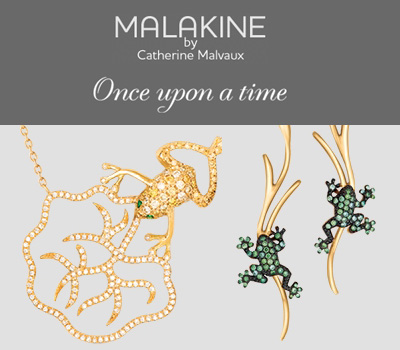 Bijoux Once Upon a time de Malakine Joaillerie